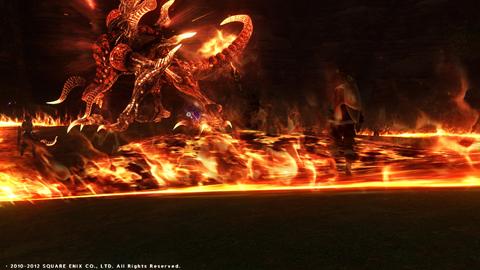 久しぶりの真イフリート戦:呪術で初参加