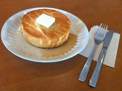 &Aのホットケーキ