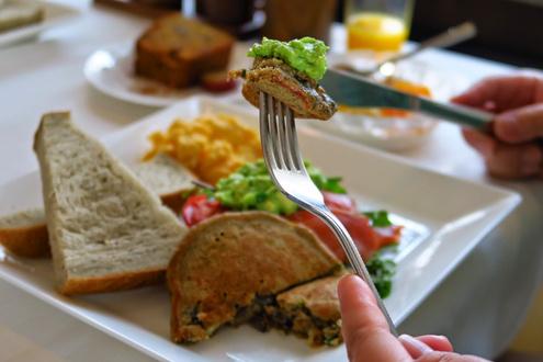 スクアミッシュの朝食
