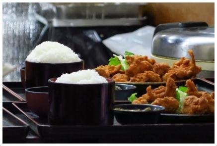 芳味亭の定食