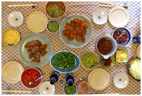 タコスの食卓