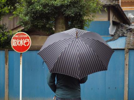 イイダ傘店の雨傘
