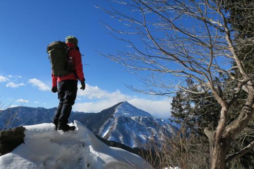 横瀬二子山(雄岳)
