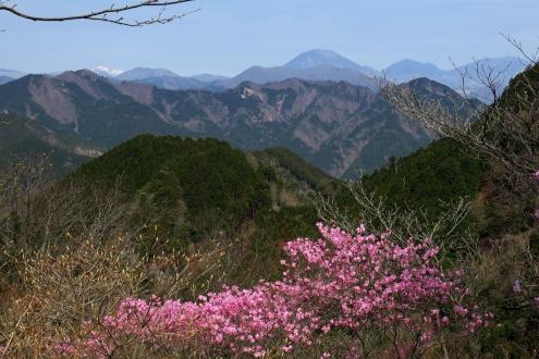 石裂山の眺望