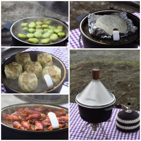 アペルカ テーブルトップスモーカーと燻製各種