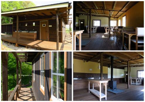 くりの木キャンプ場の施設