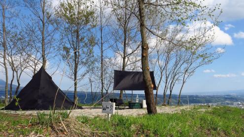 くりの木キャンプ場 W5サイト