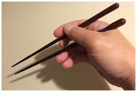 イシダの木製矯正箸