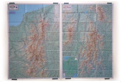 山と高原地図 日本アルプス総図 2016年版