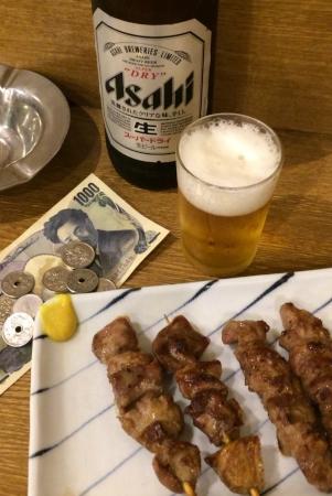 上野立飲みたきおか3号店にて