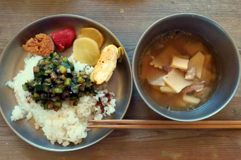 北軽井沢スウィートグラスで食べた朝めし