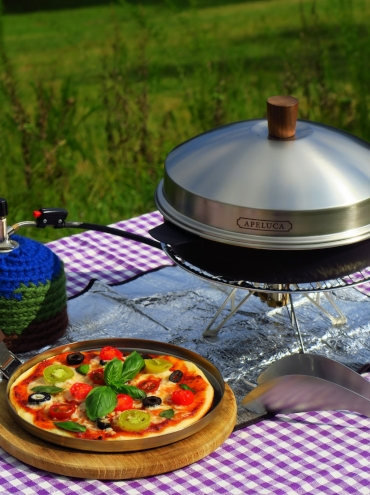 APELUCA Pizza oven potとピザ