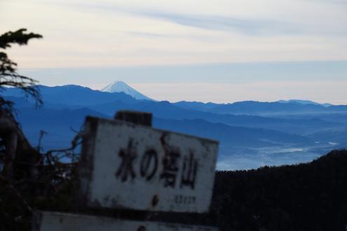 水ノ塔山 山頂眺望