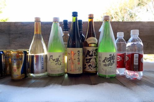 日光澤温泉での宴会セット