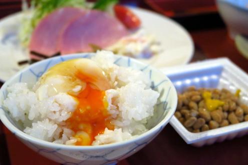 日光澤温泉の朝ごはん