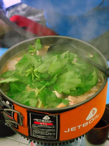 豚肉とザーサイ鍋