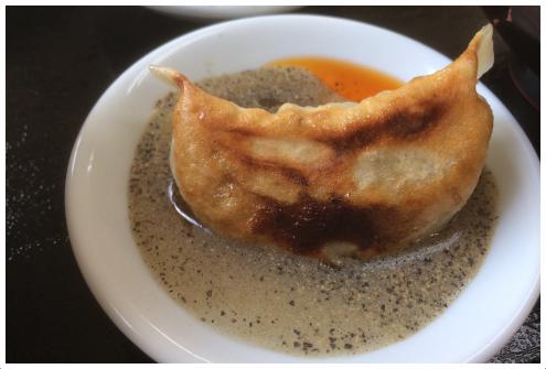 酢コショウ餃子