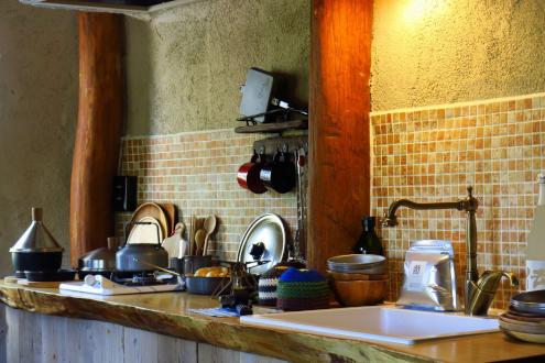 北軽SGツリーハウス・マッシュルーム キッチン
