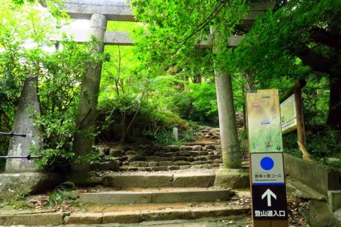 筑波山 御幸ヶ原コース登山口