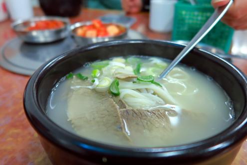 食い倒れ韓国旅行 ソルロンタン