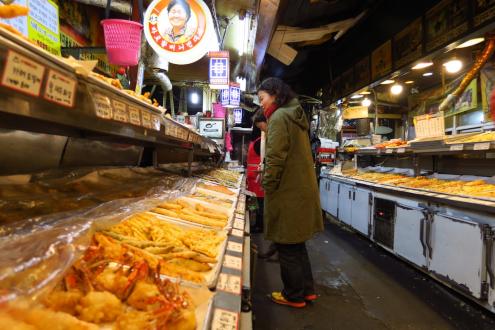 食い倒れ韓国旅行 ハルモニピンデトッ