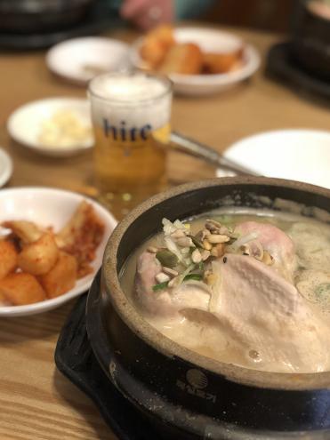 食い倒れ韓国旅行 サムゲタン
