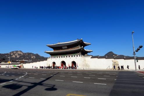 食い倒れ韓国旅行 光化門広場