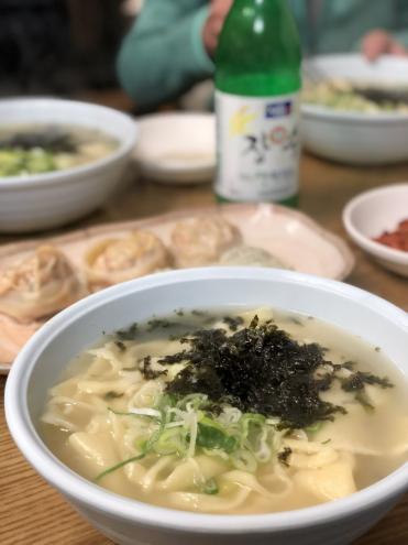 食い倒れ韓国旅行 カルグクス