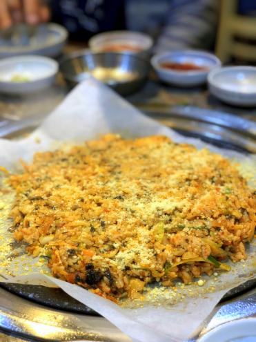 食い倒れ韓国旅行 キムチ炒飯
