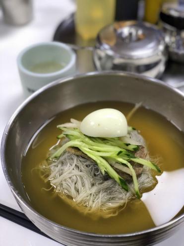 食い倒れ韓国旅行 冷麺