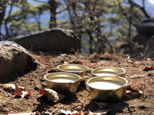 食い倒れ韓国旅行 チョンゲサン メボンでマッコリ乾杯