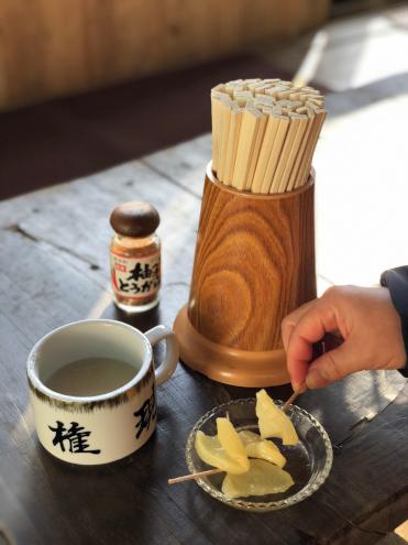 子ノ権現の茶屋