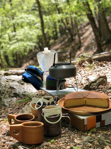 両神山白井差コースで森林浴カフェ