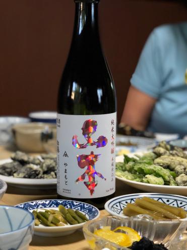 日本酒山本 アイスピンク