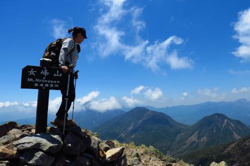 女峰山 山頂