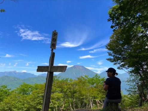 夕日岳山頂