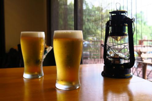 Yatsugatake J&Nの生ビール