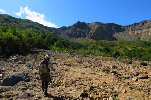 土石流発生地帯