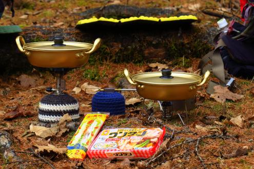ワンタン麺とマルタイ