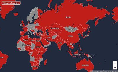 世界中の領土紛争がわかる地図サイト