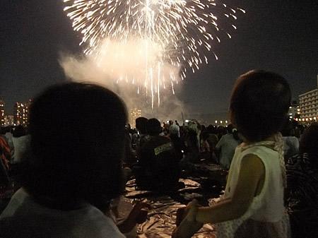 『 大田区花火大会 』 見に行きました!