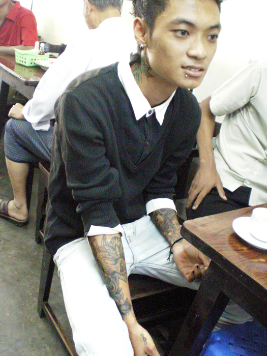 Myanmar Tattoo 1