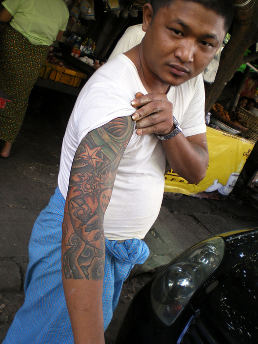 Myanmar Tattoo 2