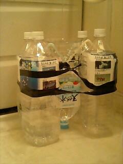 雨水利用の実験