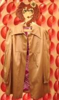 vintageゴールド コート