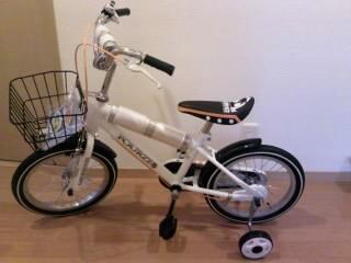 こ卯ちゃん自転車