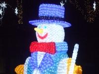 ペンギン雪だるま