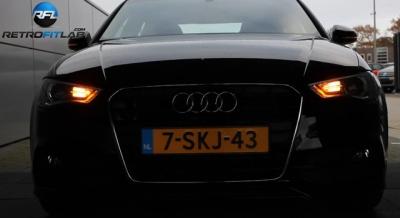 Audi A4 LED フロントウィンカー