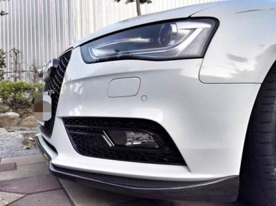 Audi A4 B8.5 カーボン フロントスポイラー