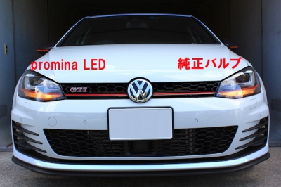GOLF7 LED フロントウィンカー